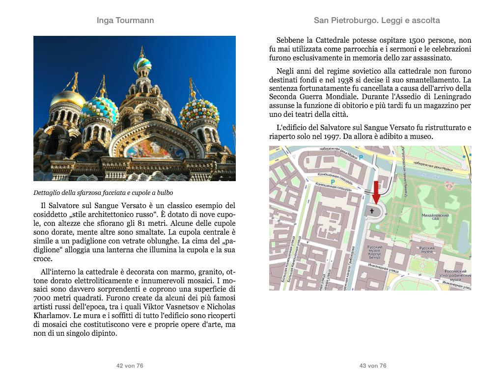 San Pietroburgo. Leggi e ascolta