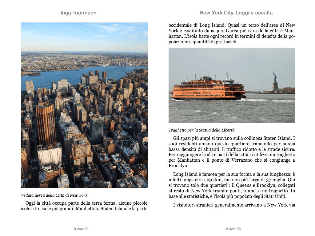 New York. Leggi e ascolta