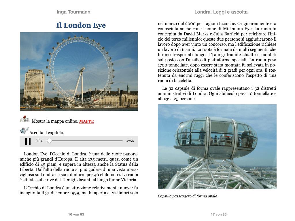 Londra. Leggi e ascolta